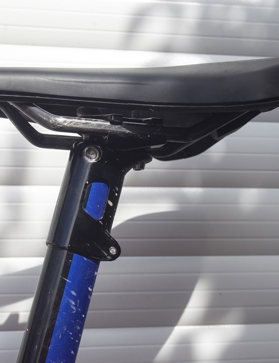 Seat clamp on the 2020 Giant TCR Advanced SL