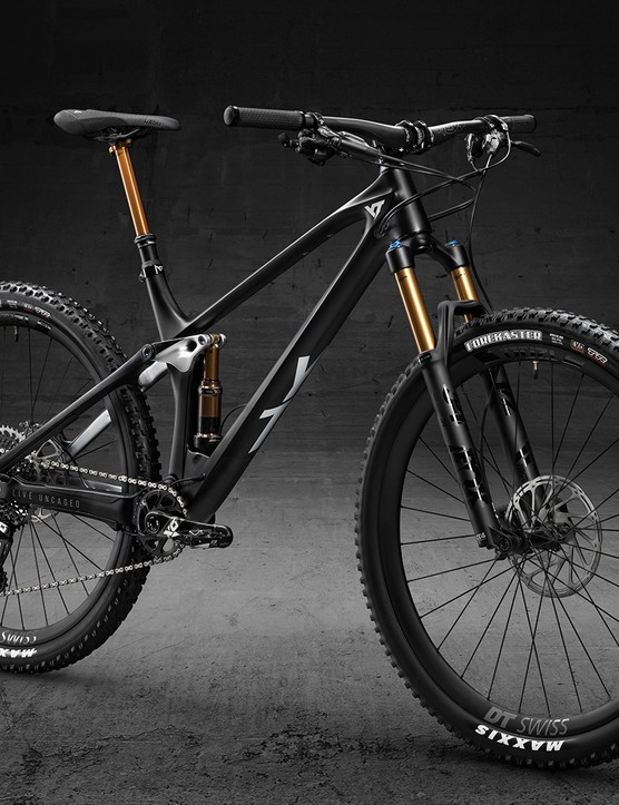 YT Industries Izzo Pro Race model full suspension mountain bike