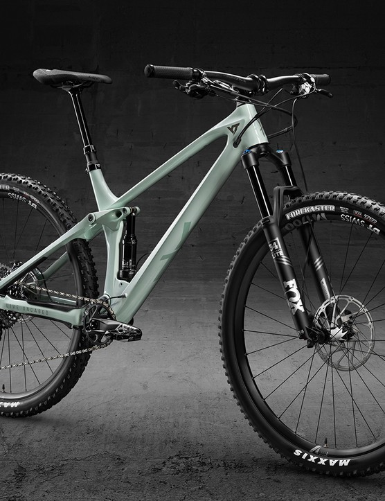 YT Industries Izzo Pro model full suspension mountain bike