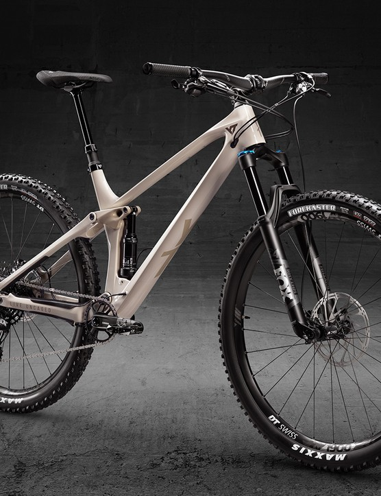 YT Industries Izzo entry-level Comp model full suspension mountain bike