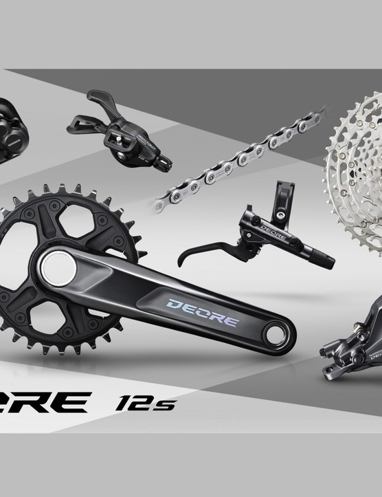 Shimano Deore M6100 12-speed groupset