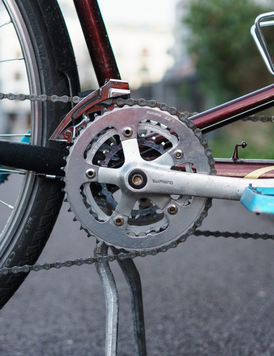24/34/44 gearing on touring tandem
