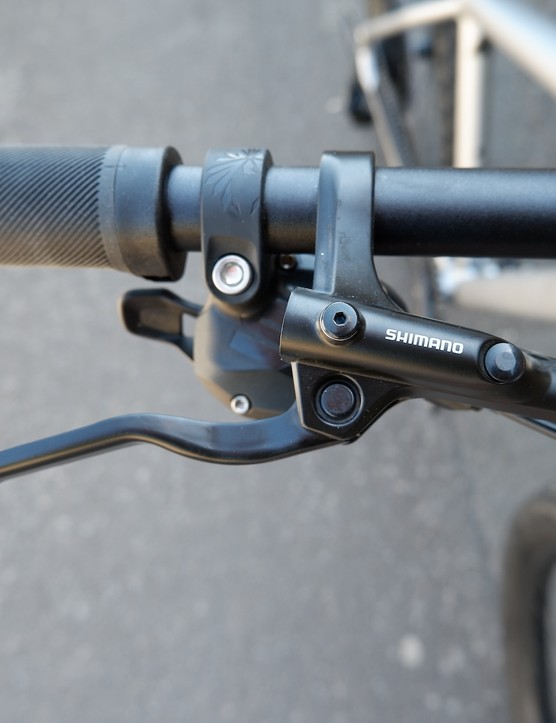 Shimano brakes on the Rockhopper