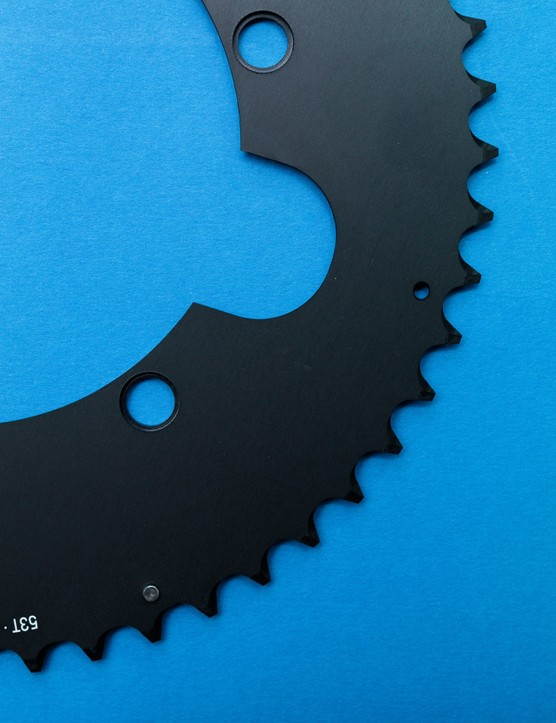 Verve Aero chainring cut out