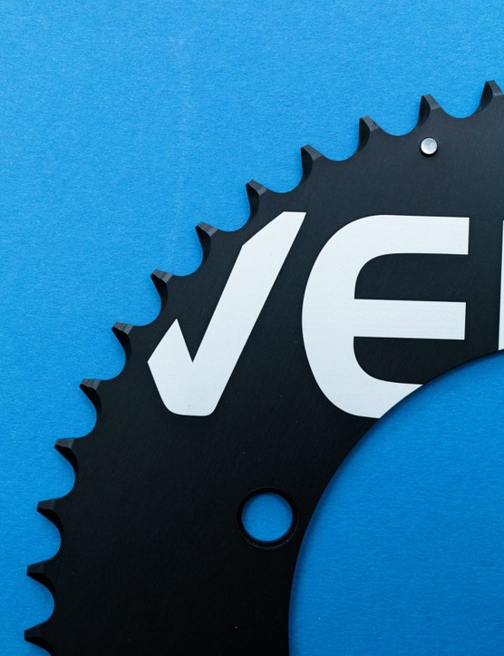 Verve Aero chainring close up