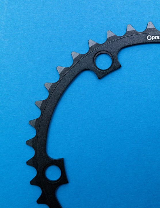 Praxis 39T chainring close up