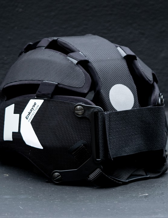Headkayse bike helmet side in black