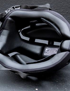 Headkayse bike helmet inside pads in black
