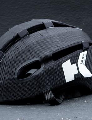 Headkayse helmet side profile in black