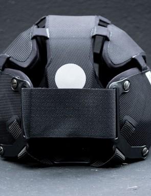 Headkayse helmet rear in black