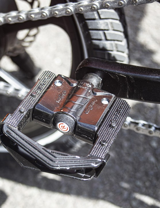 Wellgo pedals on the MiRiDER One ebike
