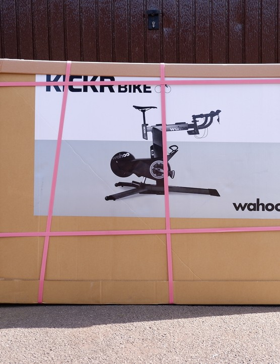 Delivery of Wahoo Kickr Bike.
