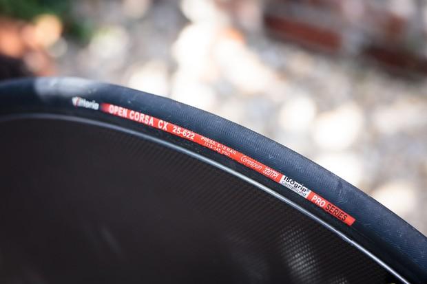 Vittoria Open Corsa Evo CX 25mm tyre
