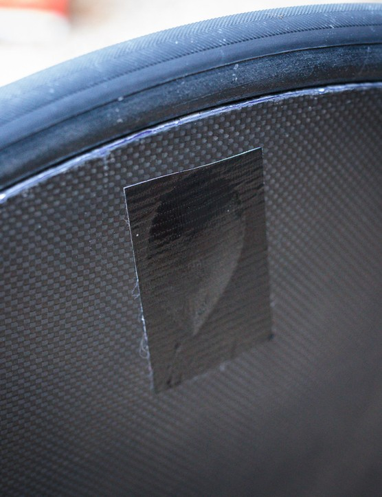 Walker Brothers rear disc wheel