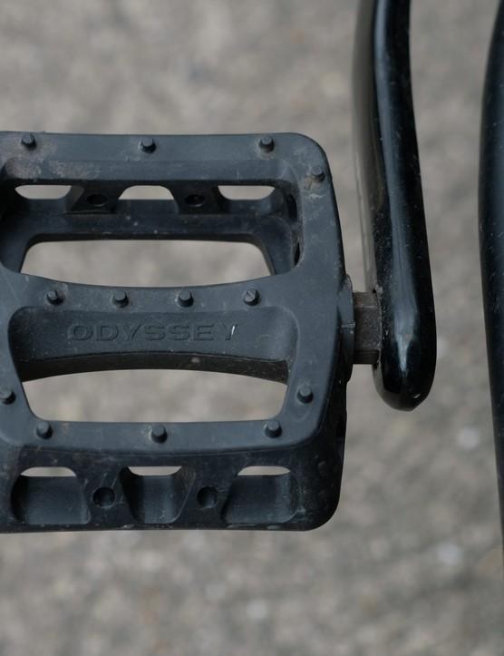 Odyssey plastic BMX pedals