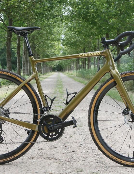 Wheelset fitted to Cervelo gravel bike