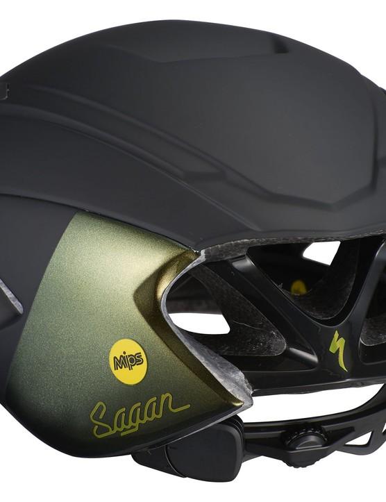 S-Works Evade II ANGi MIPS helmet rear view