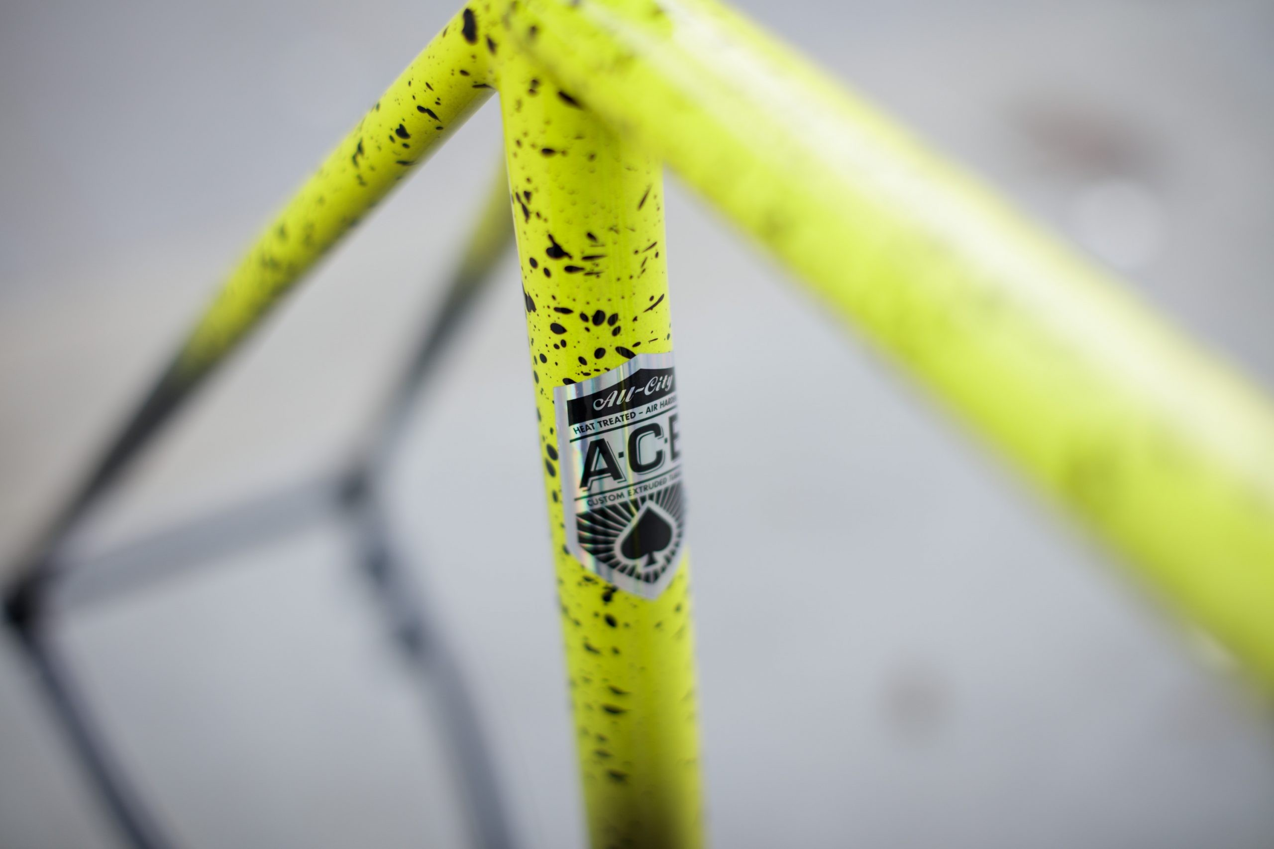 The A.C.E. tubing is proprietary to All-City.