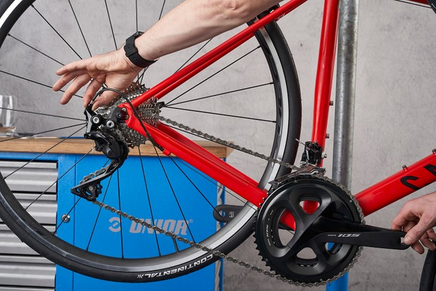 how to adjust the gears on a 21 speed bike