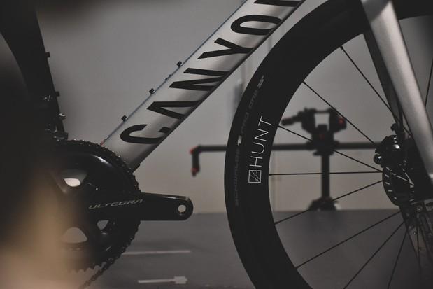 Hunt 48 Limitless Aero Disc wheelset wind tunnel testing
