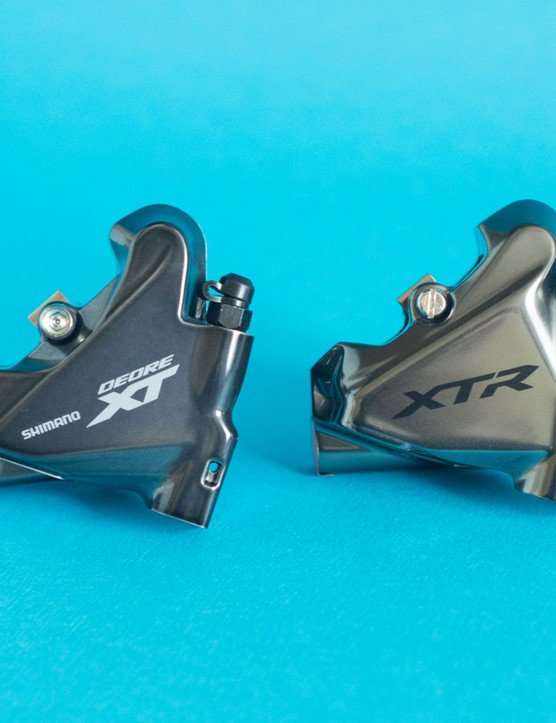 XT and XTR flat mount calipers