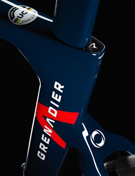 Ineos-Grenadiers Tour de France bike, Pinarello Dogma F12