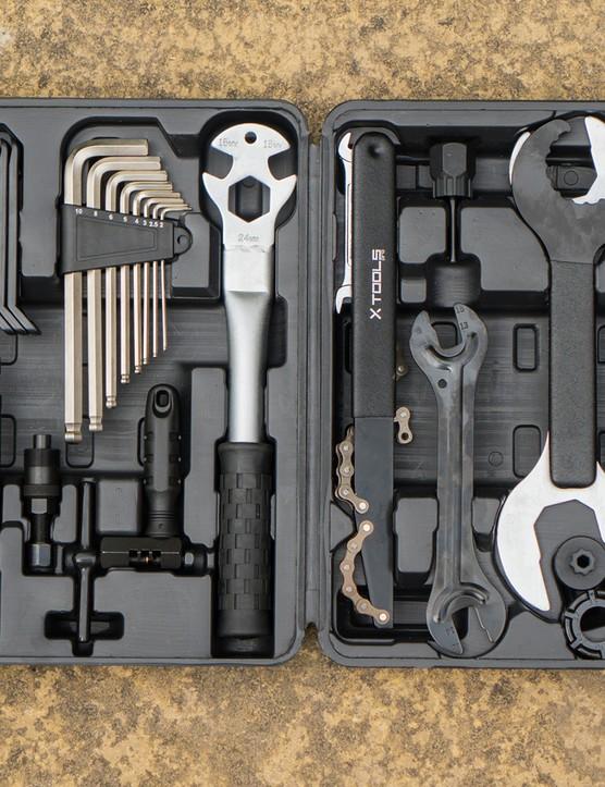 Lifeline X-Tools 37-piece toolkit