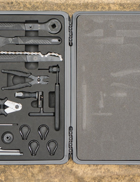 PRO's Advanced Toolbox has 25 pieces