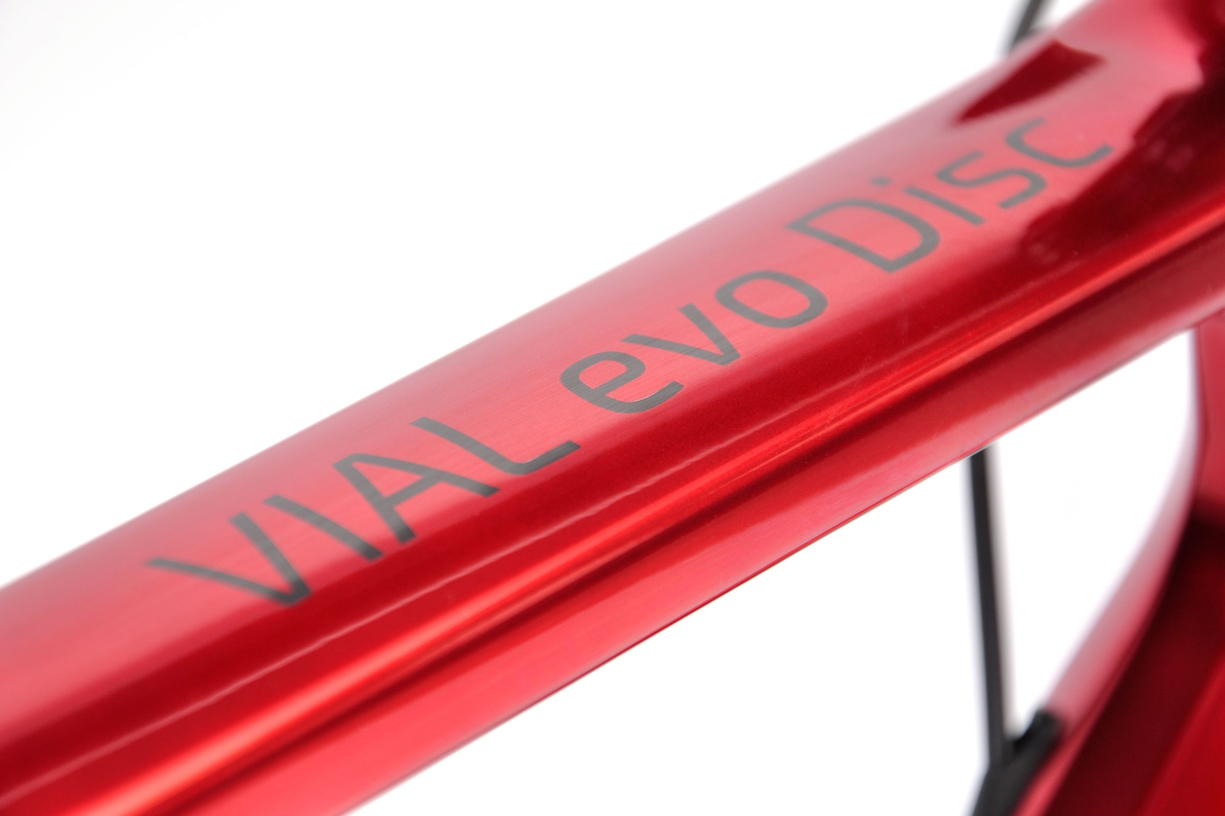 Top tube decal and paint