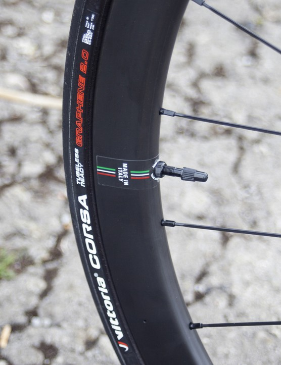 Wilier Cento10 SL Ultegra Di2 wheels