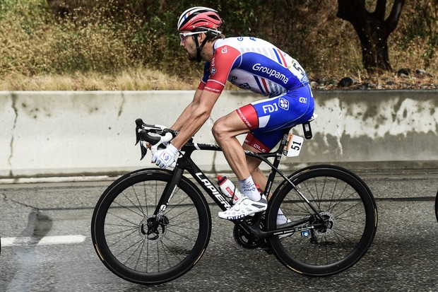Thibaut Pinot on stage one of the Tour de France 2020