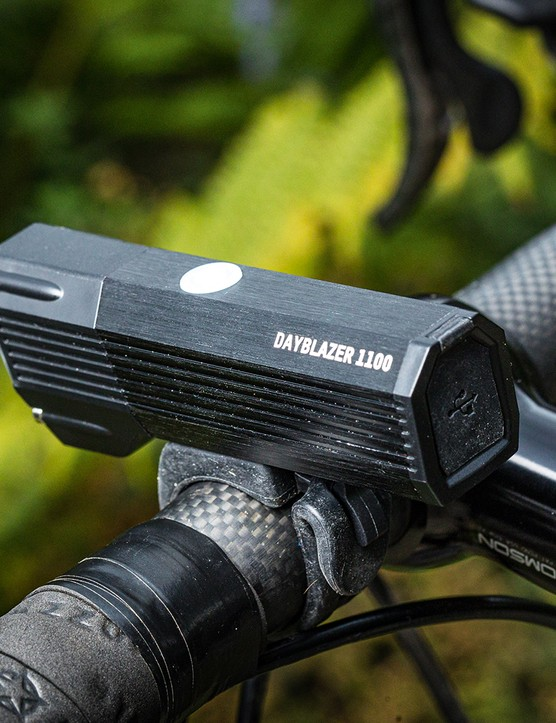 The Blackburn Dayblazer 1100 front road light
