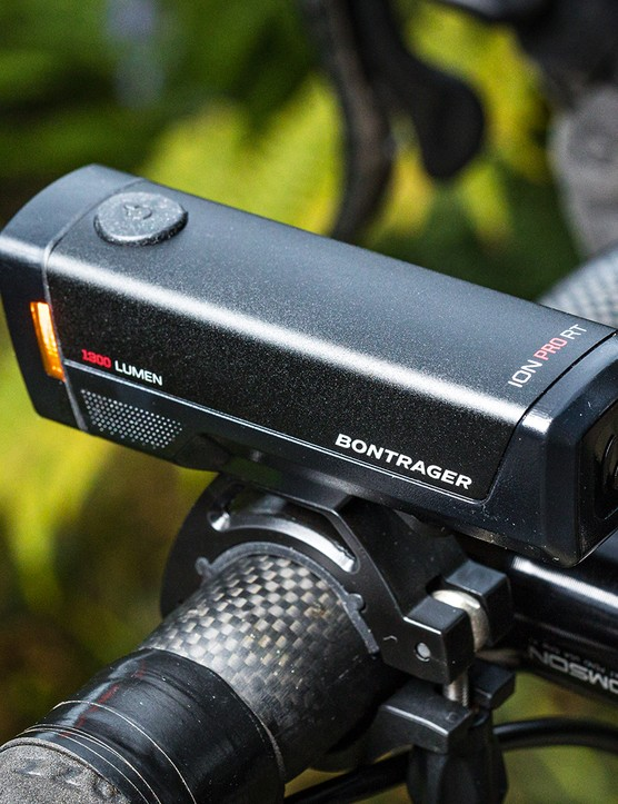 Bontrager Ion Pro RT front light for road cycling