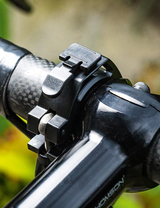 Mount on handlebar for the Bontrager Ion Pro RT front cycling light