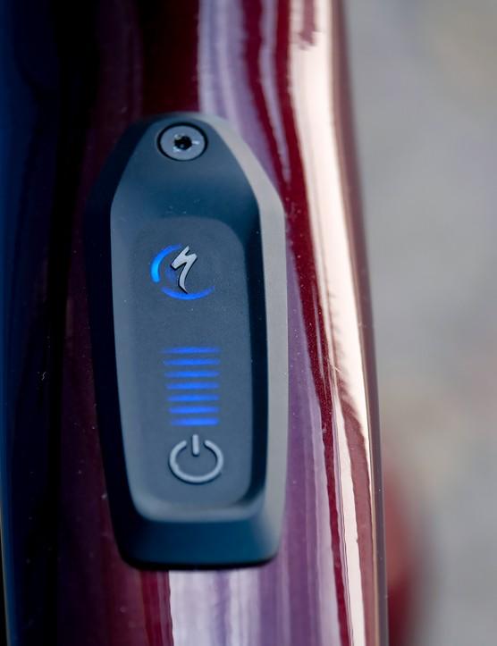 2021 Specialized Turbo Vado SL 4.0 battery display