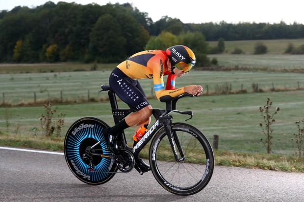 LA PLANCHE, FRANCE - SEPTEMBER 19: Mikel Landa Meana of Spain and Team Bahrain - Mclaren / during the 107th Tour de France 2020, Stage 20 a 36,2km Individual Time Trial stage from Lure to La Planche Des Belles Filles 1035m / ITT / #TDF2020 / @LeTour / on September 19, 2020 in La Planche, France. (Photo by Michael Steele/Getty Images)