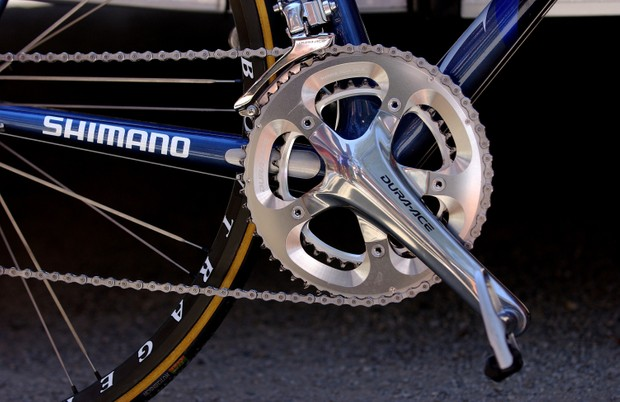 Trek with Shimano Dura-Ace 7800 chainset