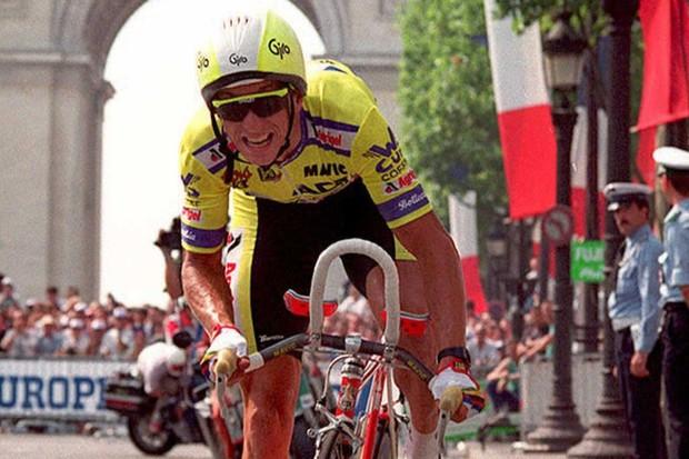 Greg LeMond at the 1989 Tour de France