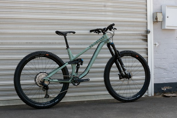 Privateer Bikes 141 trail mountain bike