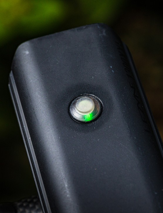 Top view of the Lezyne Macro Drive 1300XXL front light