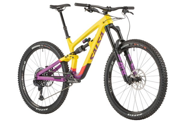 Salsa Cassidy Carbon GX Eagle enduro mountain bike
