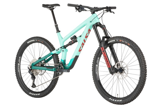 Salsa Cassidy Carbon SLX enduro mountain bike
