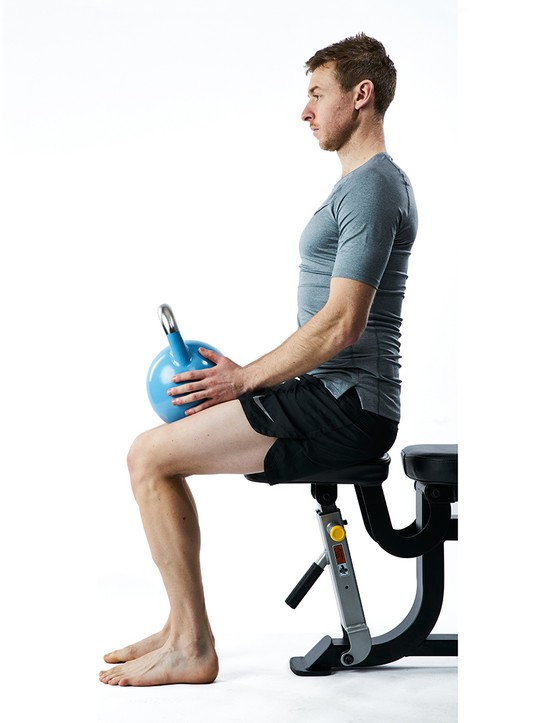 Soleus stretches - An exercise to strengthen your lower leg