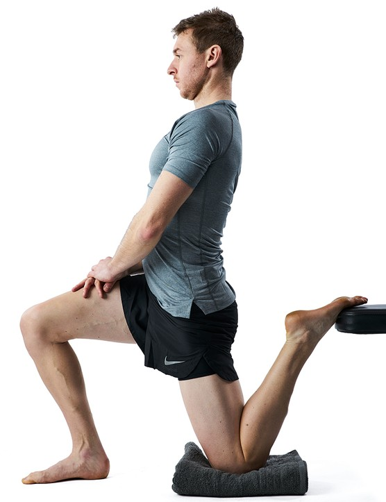Couch stretches - An exercise to strengthen your upper leg