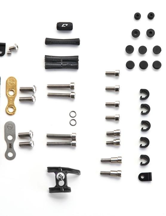 Assorted frame hardware