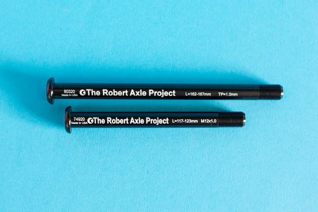 Robert Axle Project Hexlox axles
