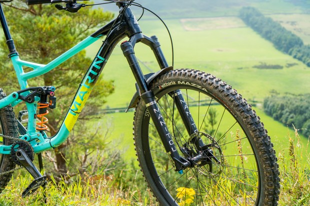 Marin Alpine Trail 8 custom build enduro mountain bike