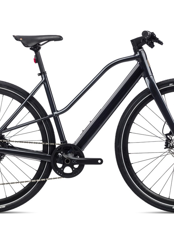 Pack shot of the Orbea Vibe Mid H10 eBike