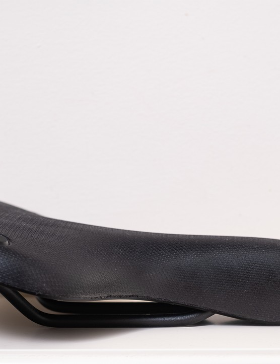 Brooks C67 bike saddle side