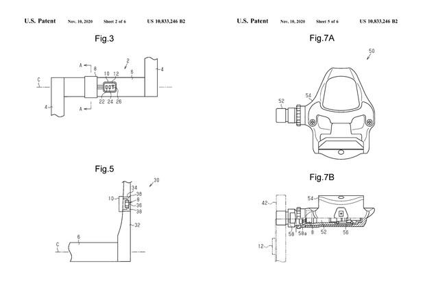 Shimano圧電特許図